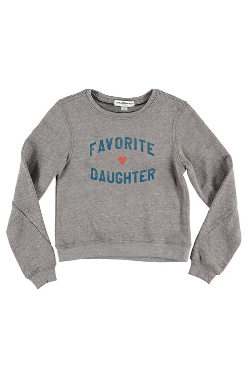riot favovorite daughter sweathshirt
