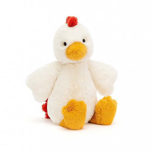 Jellycat Medium Bashful Chicken