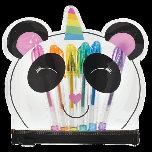 Iscream Panda Mini Gel Pen Set