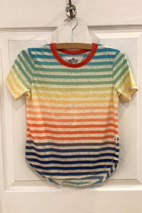 T 2 Love Rainbow Stripe Tee