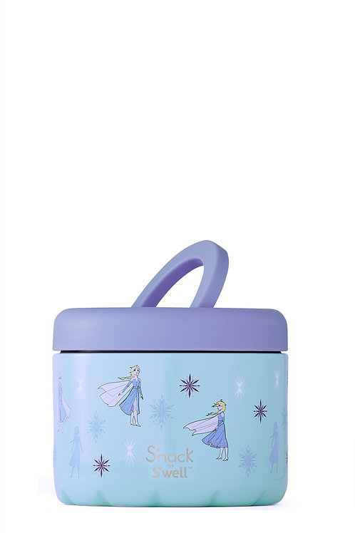 Snack by S'well Frozen 2 Queen of Arendelle 24 oz Food Container