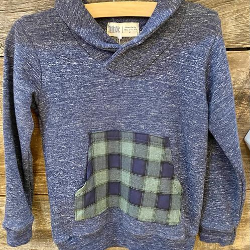 Thimble Shawl Neck Sweatshirt