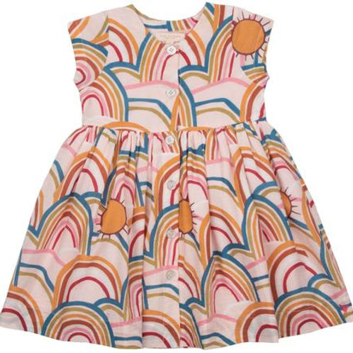 Pink Chicken Pink Rainbows Dress