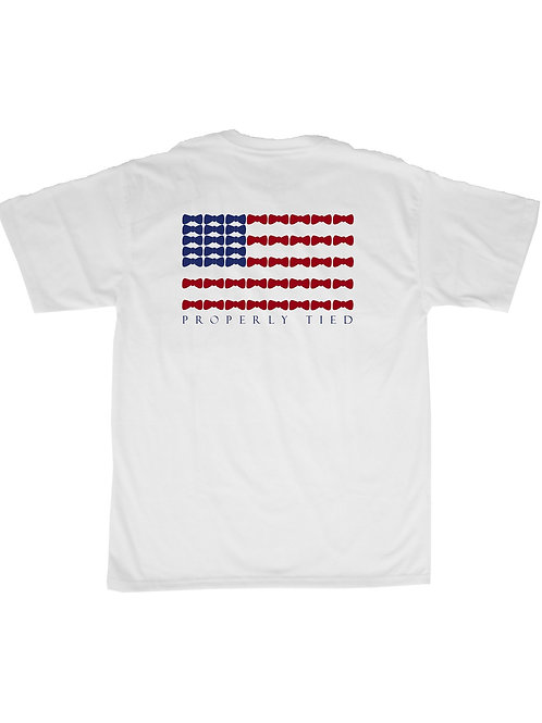 Properly Tied Bow Flag Tee
