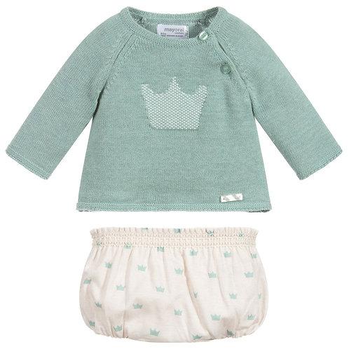 Mayoral Newborn Crown Set