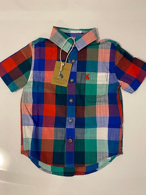 Boys joules multi Elwood shirt