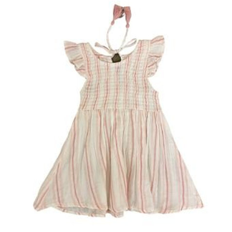 Mimi and Maggie Awning Stripe Dress