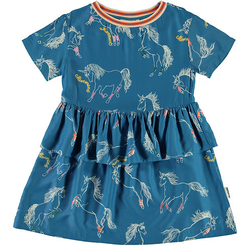 Molo Sporty Unicorns Dress