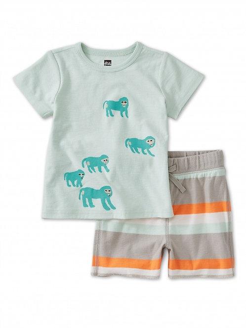 babboon baby set