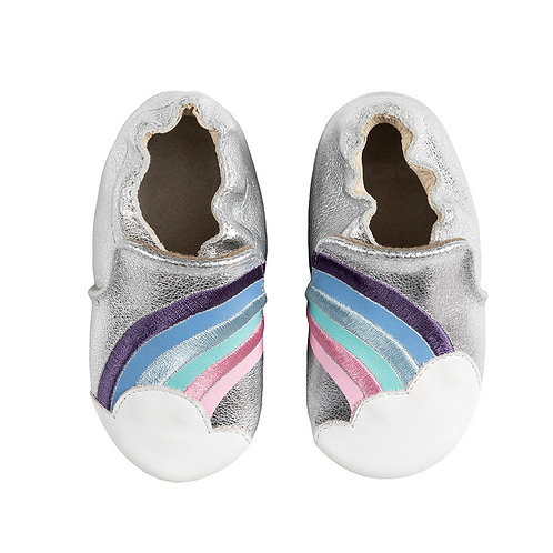 Robeez Rainbow Soft Soles Shoe