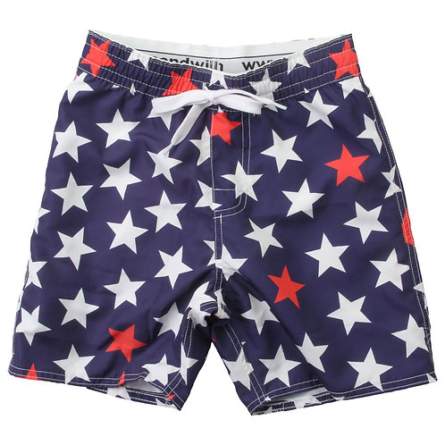 Wes & Willy Stars Swim Short