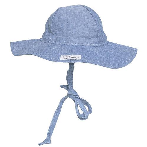 Flap Happy Chambray Sun Hat
