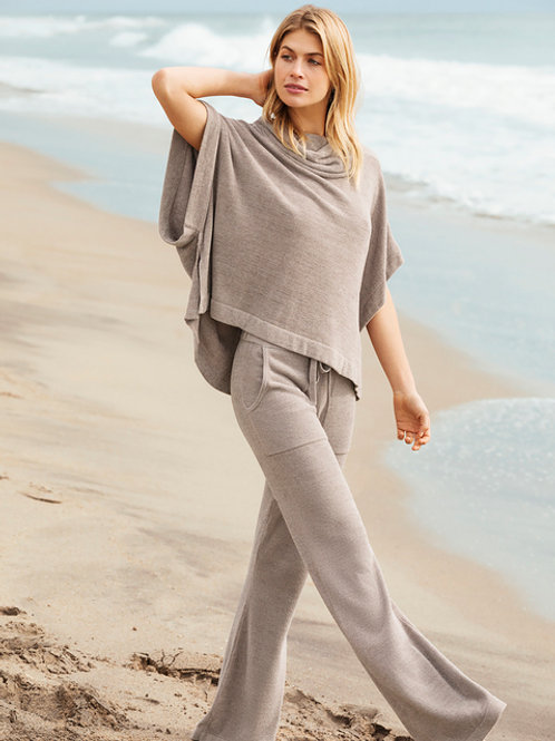 Barefoot Dreams Cowl Neck Poncho