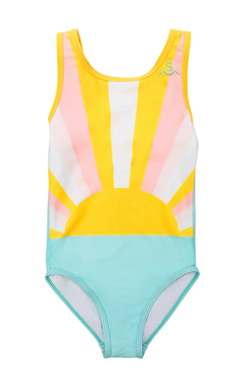 Tiny Whales x Seaesta Surf Sun Child Swimsuit