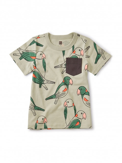 Boys Parakeet pocket Tee