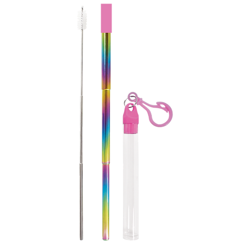 Iscream Rainbow Reusable Straw