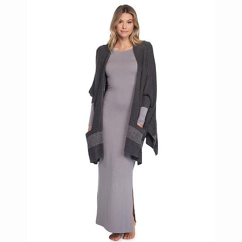 Barefoot Dreams Cozy Chic Lite Cliffside Wrap