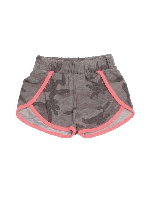 Joah Love Grey Camo Short