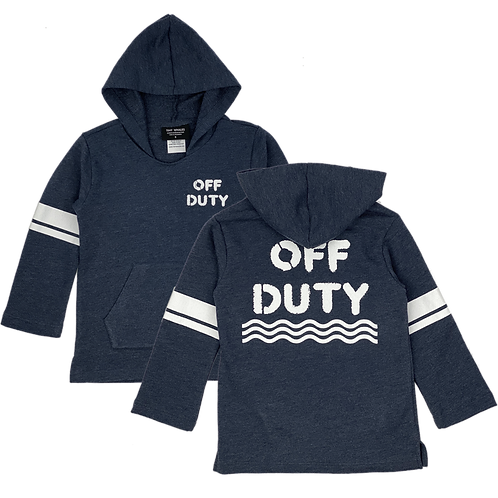 Tiny Whales Off Duty Hoodie