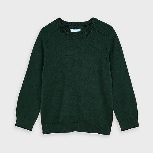 Mayoral Dark Green Basic Sweater