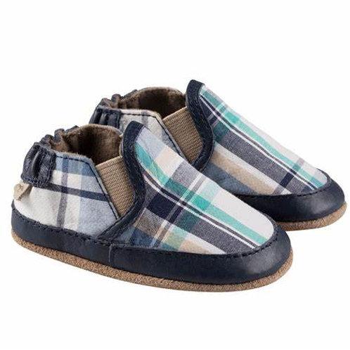 Robeez Plaid Soft Soles Shoe