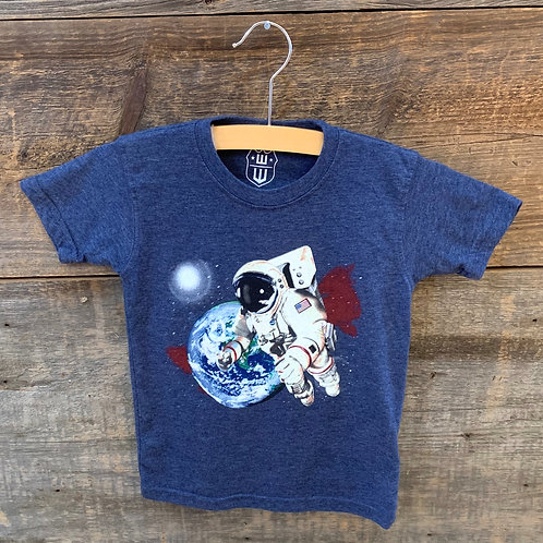 Wes and Willy Astronaut Tee