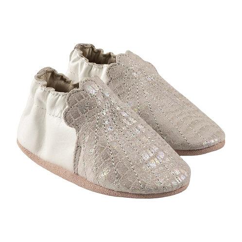 Robeez Iridescent Shell Soft Soles Shoe