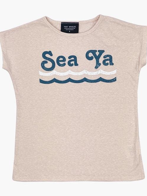 Tiny Whales Sea Ya Tee