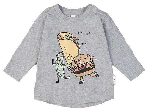 Hux Fast Food Long Sleeve Top