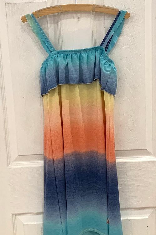 T 2 Love Rainbow Ombre Dress