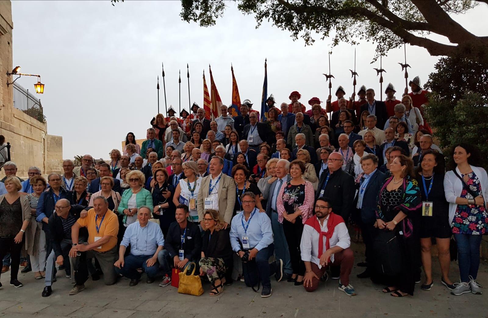 Partecipanti al XV Congress Lions  Citta  Murate Malta