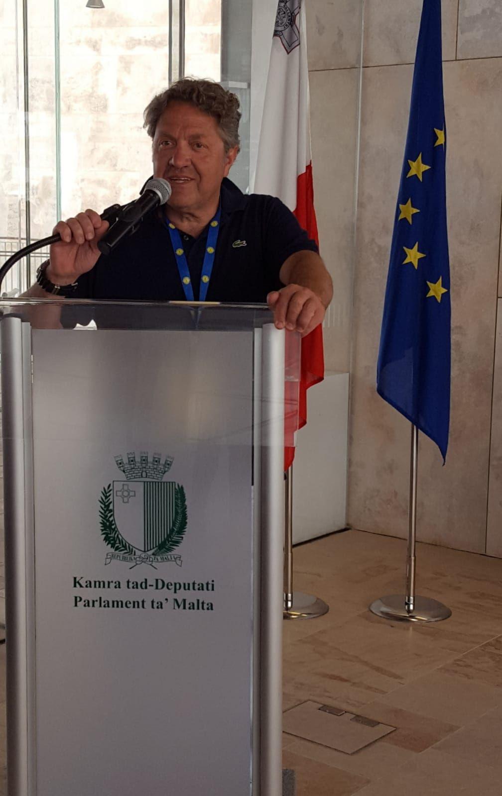 Lions  Maurizio Rosati Parlamento di Malta