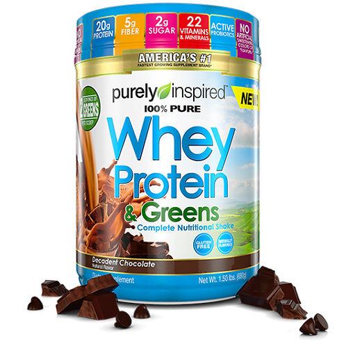 Whey Protein & Greens
