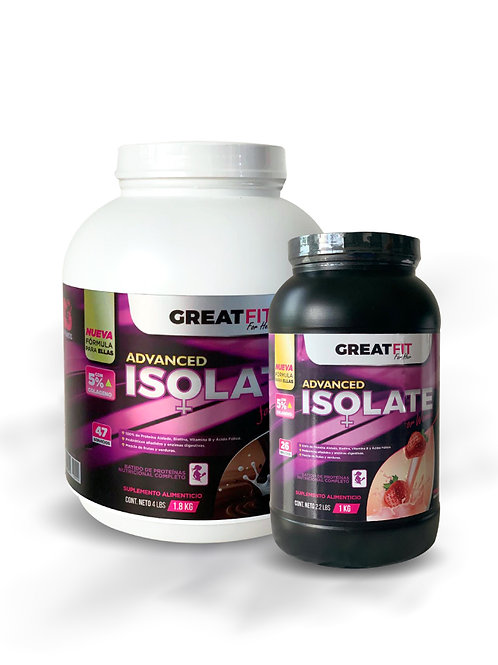Great Fit Isolate Protein4 lb