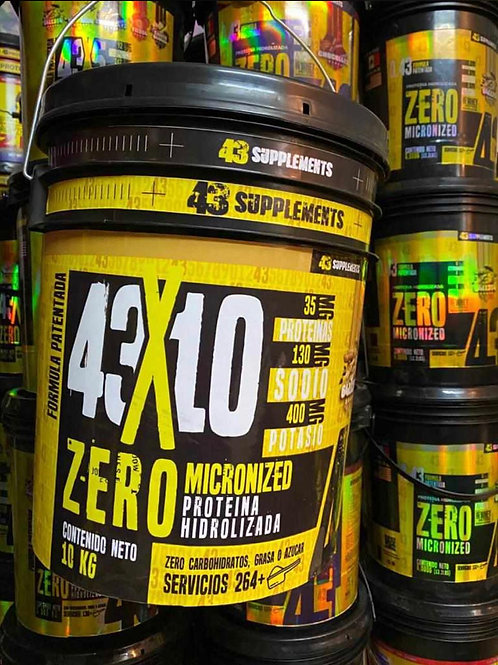 Proteína Hidrolizada 10 kg 43