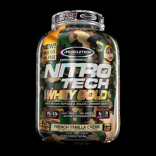 Nitrotech Whey Gold 5.5 lbs