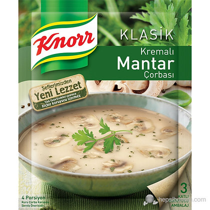 Knorr κρέμα μανιταριού σούπα
