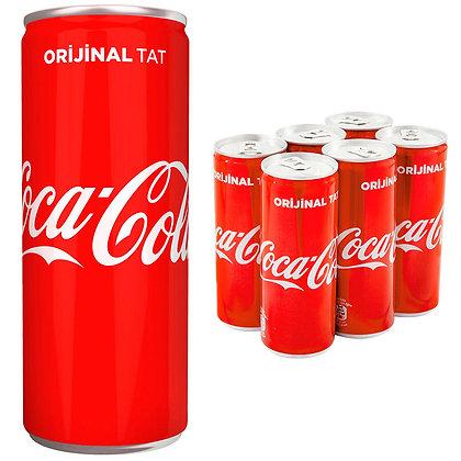 Coca Cola 330ml 6 τμχ.