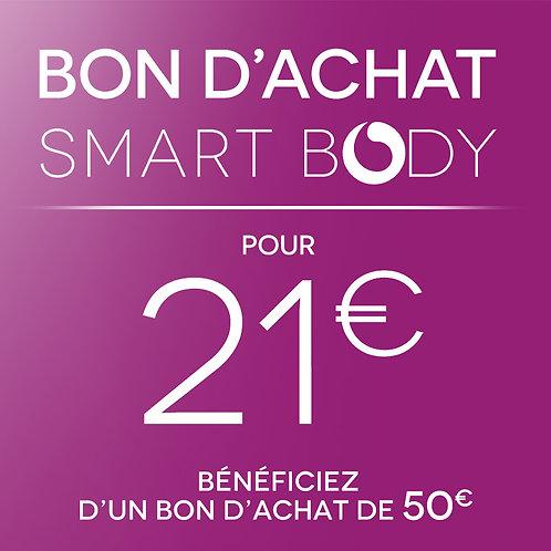 Pour 21€, bénéficiez d'un bon d'achat de 50€