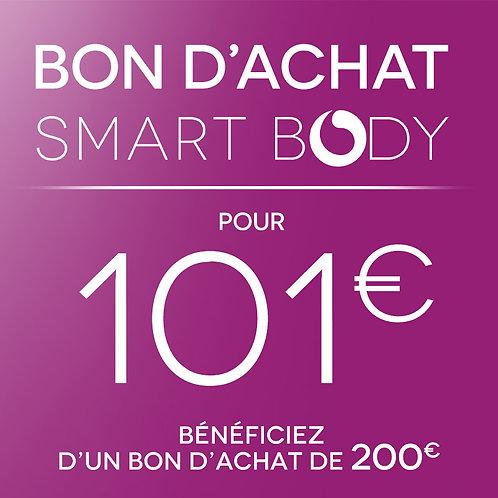 Pour 101€, bénéficiez d'un bon d'achat de 200€