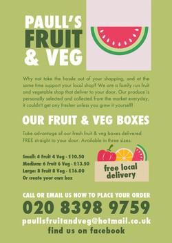 Paulls Fruit and Veg