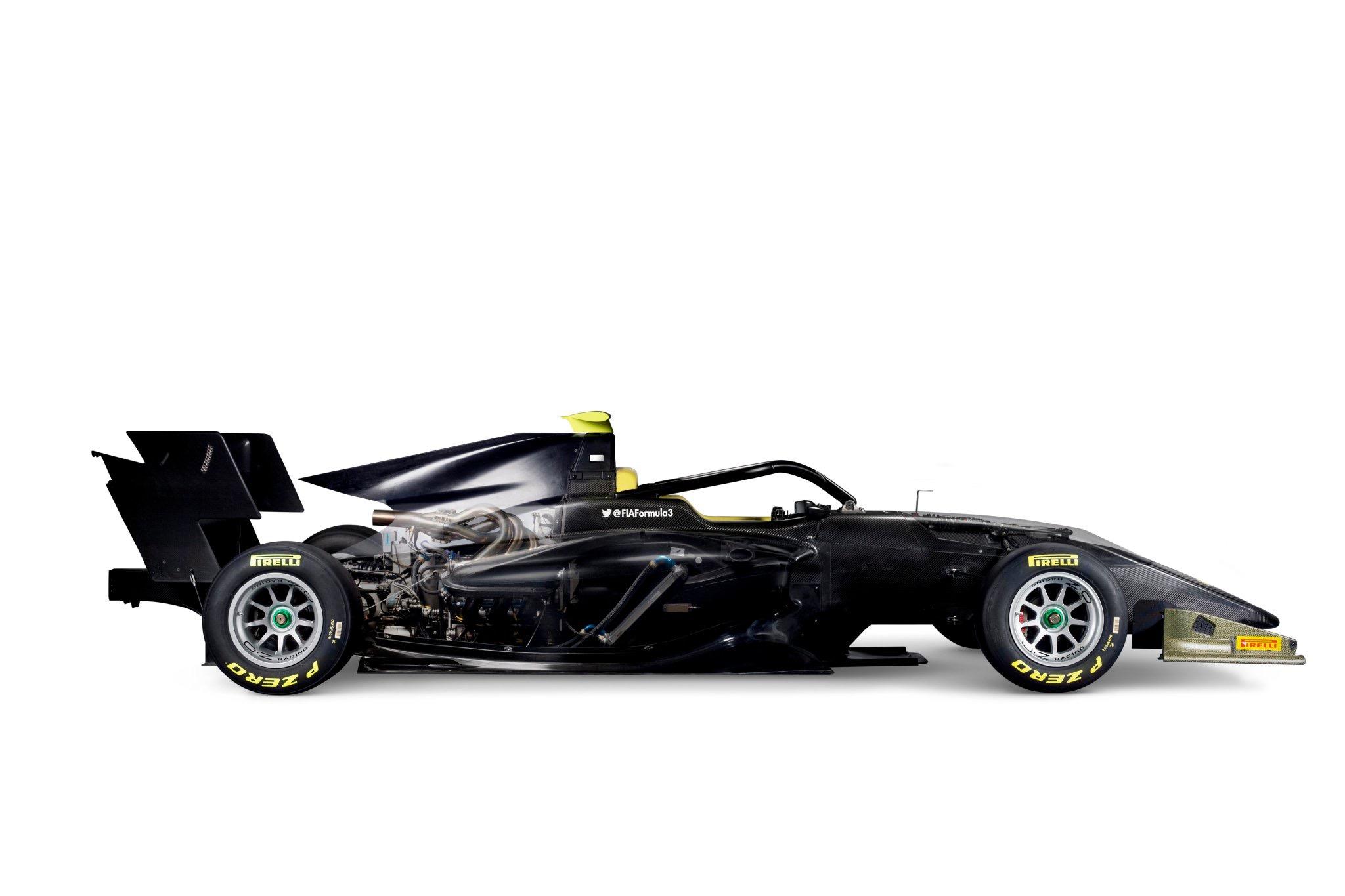 FIA Formula 3 car 2019