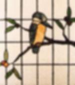 leadlight kookaburra