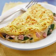 Egg & Meat Omelet
