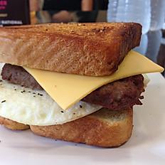 Steak, Egg & Cheese Sandwich