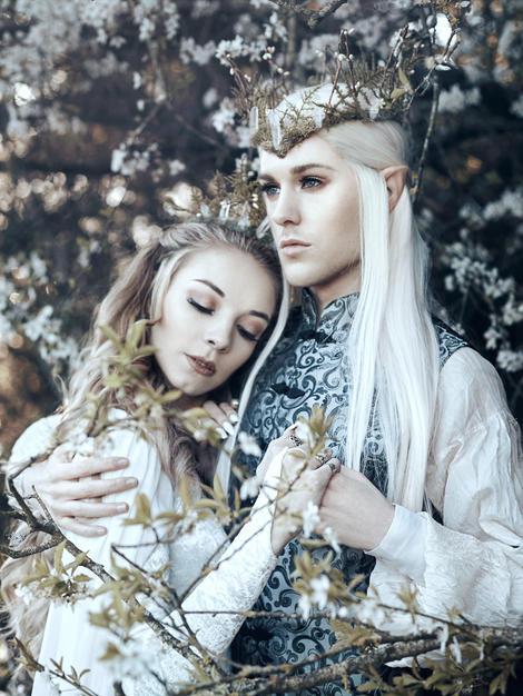 Elf King & Queen
