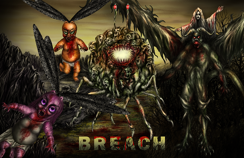 Breach Full Color Poster