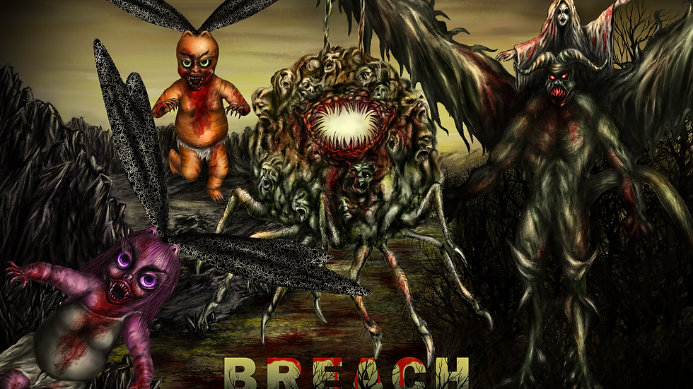 Breach Full Color Poster