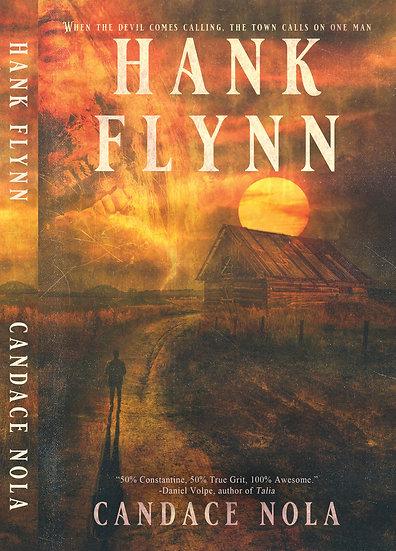 Signed Paperback copy of Hank Flynn
