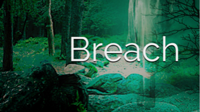 Signed Paperback copy of Breach